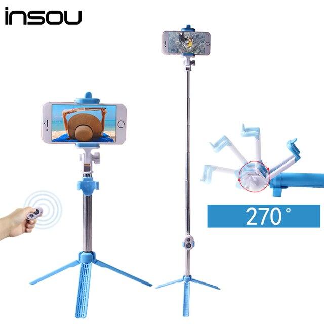 buy insou mini palo selfie bluetooth selfie stick tripod shutter wireless. Black Bedroom Furniture Sets. Home Design Ideas