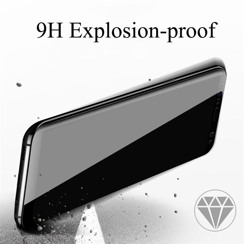 Suntaiho 4D Tempered Glass For Samsung s9 plus Galaxy s8 Plus Galaxy note8 Screen Protector Explosion-proof Galaxy A8 Glass Fil