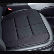 Black Color Bamboo Charcoal Car Seat Covers Cushion