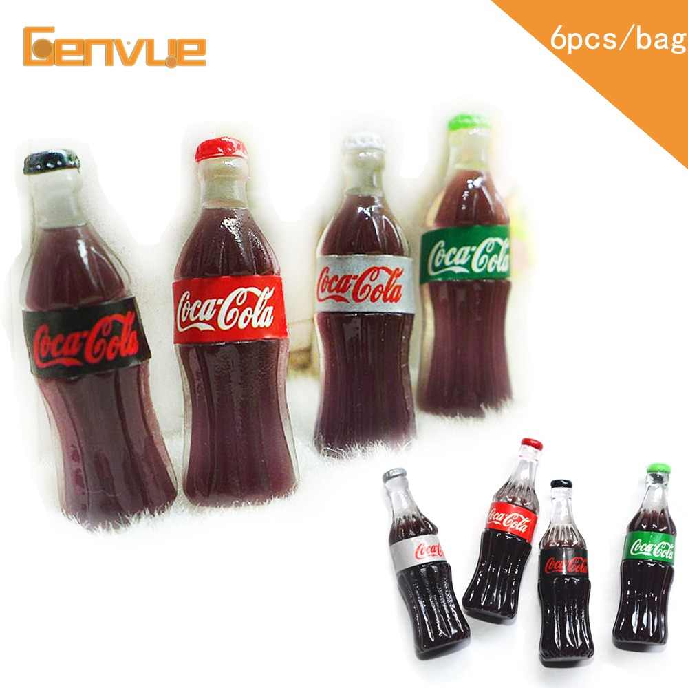 Cola Bottle Bead Resin Addition for Slime Filler DIY Clay Charms Slime Supplies Lizun Plasticine Clear Glue Slime Accessories