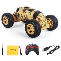 Four Wheel Drive High Speed Car Double Sided Climbing Deformation Twist Stunt Car Toy Car Children Remote Control Car