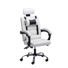PI#3001 Computer can massage leather chair, boss staff, human engineering office, household lifting and rotating chair