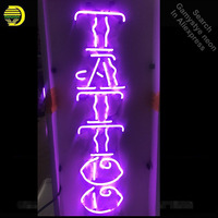 Neon Sign for purple Tattoo neon bulb Sign Art studio Beer Bar Pub Decorative Neon Light Signs for Store Lighted Signs
