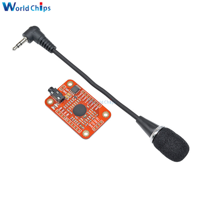 Image 3 - Speed Recognition Voice Recognition Module V3 Compatible with for Arduino Support 80 Kinds of Voice DC 4.4  5.5 V High Accuracy-in Integrated Circuits from Electronic Components & Supplies