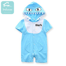 12M-24M Cute Infant Baby Clothing Summer Short Sleeve Cotton Romper Toddler  Playsuit Outfits Animal Style Baby Clothes