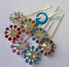 hijab pins stick pin one dozen crystal hijab scarf pins muslim khaleeji fix safety pins mix colors