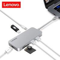 Lenovo Original 7 In 1 USB C Hub Type C Female USB 3 0 TF SD
