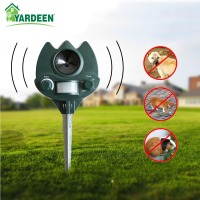 2017 Garden Eco Friendly Ultrasonic Animal Repeller Cat Dog Repellent Pest Reject Control Outdoor Use