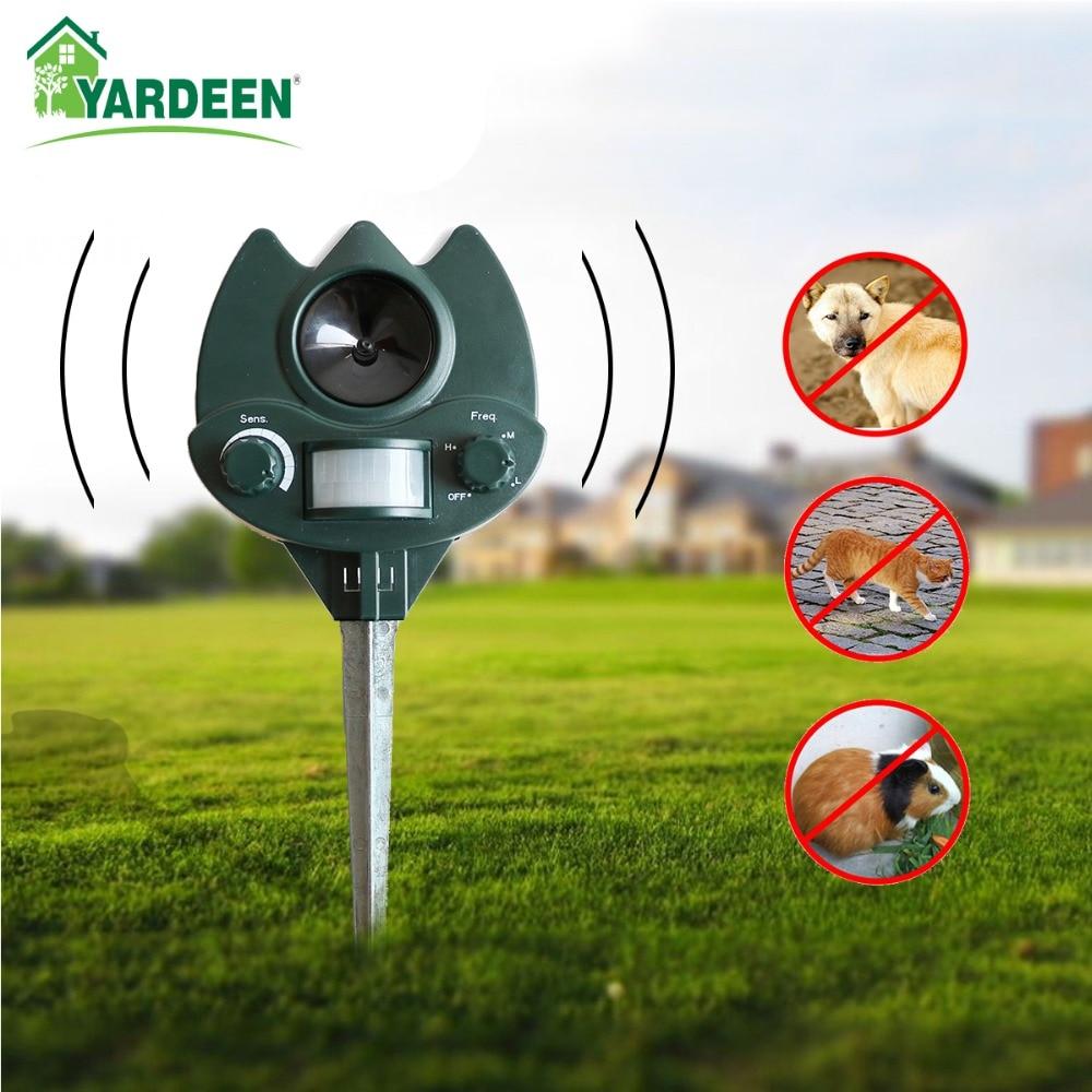 2017 Zahrada Ekologická ultrazvuková zvířecí peska Repellerová - Zahradní produkty