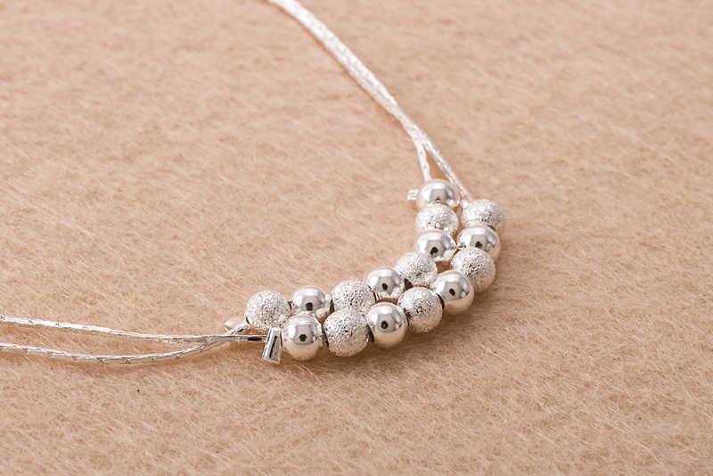 Matte beads Women Chain Ankle Bracelet Barefoot Sandal Beach Foot Jewelry New Fashion Gold Anklet Delicate women 533