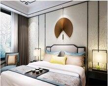 beibehang New Chinese non-woven fabric dark stripes new living room bedroom wall wallpaper papel de parede papier peint