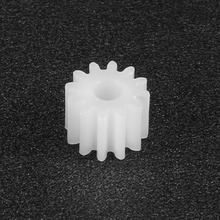 uxcell 10Pcs 8/10/12/16 Teeth 2mm Hole Dia Plastic Shaft Gear Toy Accessory 082/102/122/162A Great Toos lfor DIY Car Robot Motor 10 pcs 11mm x 5mm x 2mm 16 teeth white plastic bevel gear for diy rc toy