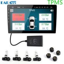 USB Android TPMS монитор давления в шинах/Android система контроля давления в шинах Беспроводная передача TPMS