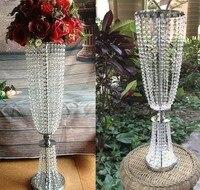Boda al por mayor Decoración de mesa para flores artificiales/Flor ramo titular/soporte de la torta/del partido soporte (100 cm altura