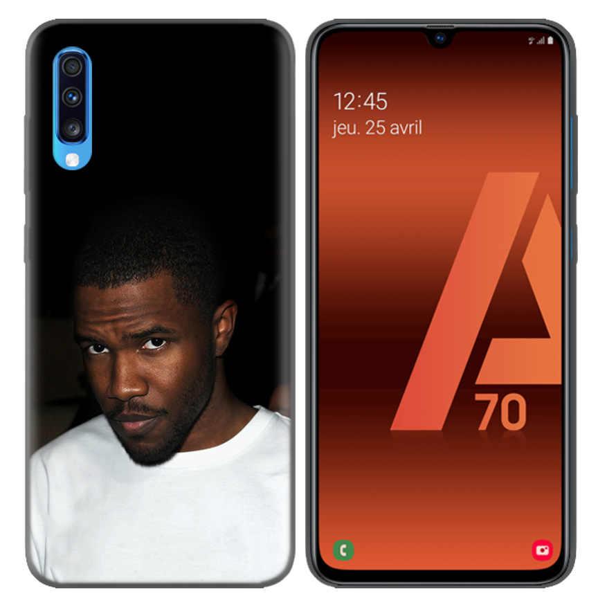 Frank Ocean Blonde Motif Coque souple Housse Coque pour Samsung Galaxy A10 A20 A30 A40 A50 A60 A70 A80 A20e A6 A8 A7 A9 Plus 2018
