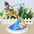 25CM Game over watch Figure Tracer wo WidowMaker D.VA MEI GENJI HANZO Pharah Symmetra McCree Winston soldier 76 Bastion