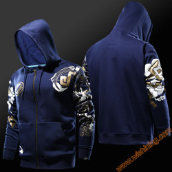2017 blizard ow game reaper hanzo cosplay hoodies mens boys full face zip up ow game.jpg 250x250