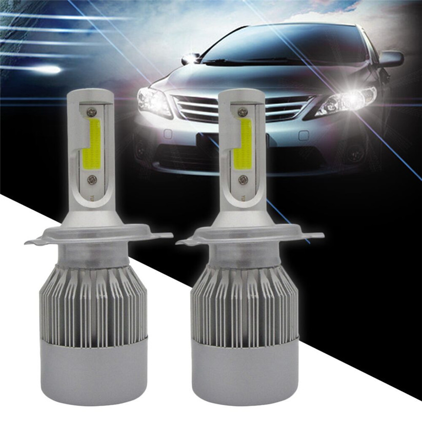 Car-styling CARPRIE Headlight Bulbs COB H4 HB2 9003 1080W 162000LM LED Headlight Kit Hi/Lo Power Bulbs 6000K td0416 dropship