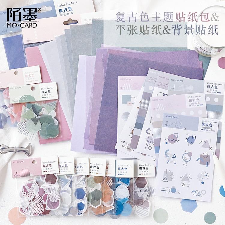 Diary Planner Calendar Paper Sticker DIY Sticky Photo Album Decor Memo Pads