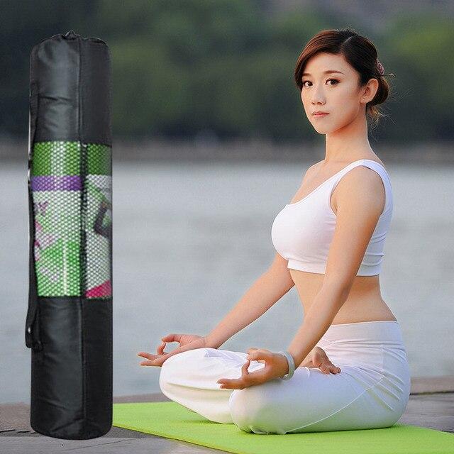 Портативный Yoga Bag Пилатес Мат Сетки Сумка Оксфорд Тренировка Перевозчика 67 см новый бренд