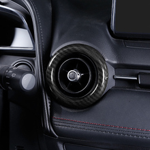 For 2015 2016 2017 Mazda 2 Demio DL Sedan DJ Hatchback ABS Central console Air Conditioning Outlet Ring Air Outlet Cover Trim 1pc for 2015 2016 2017 mazda 2 demio dl sedan dj hatchback matte abs plastic water cup cover trim car styling accessories