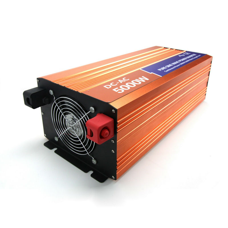 цена на Off-grid Pure Sine Wave Inverter 5000W 48VDC 110V/120V/220V/230VAC Peak Power 10000W Solar Voltage Converter Wind Inverter