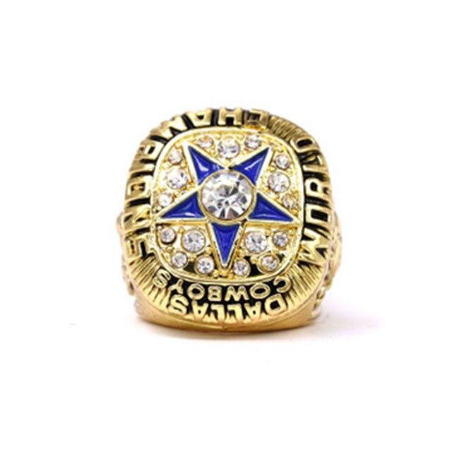 1971 NFL Super Bowl American Football Championship Ring Dallas Cowboys Championship Ring 3