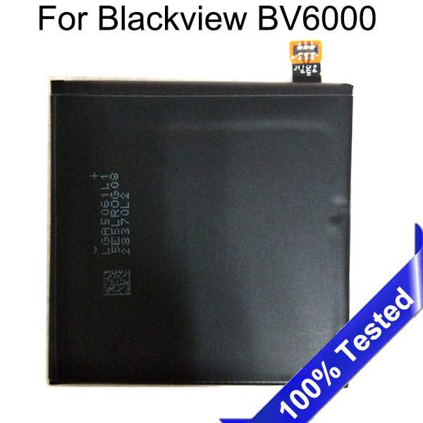 for Blackview BV6000 Battery 4500mAh Li-ion Battery Replacement for Blackview BV6000S Smartphone SanErqi