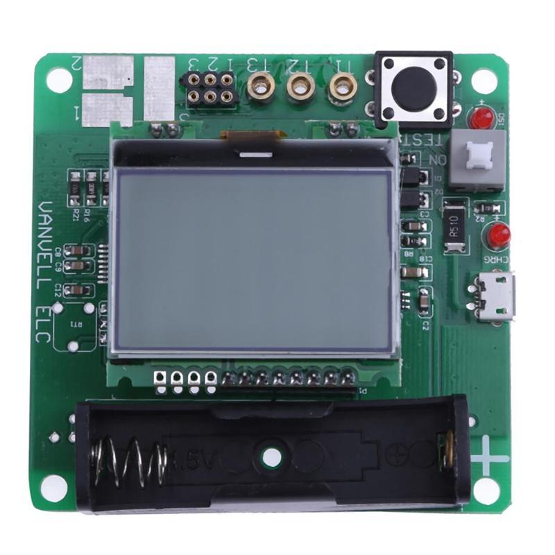 3.7V LCD Graphic Transistor Tester Inductor Capacitor ESR Meter DIY Kit Multifunction Electrical Instruments
