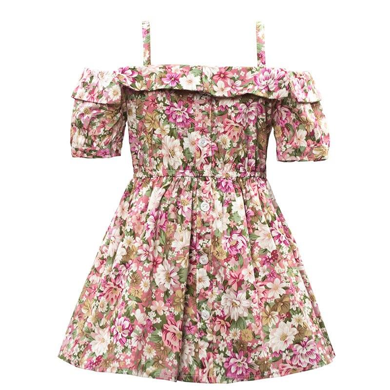 Детские нарядные платья из хлопка