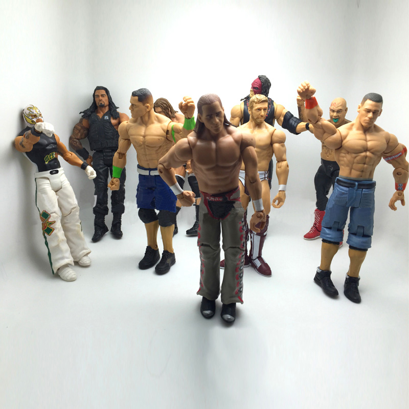Action Toys For Boys : Pc cm wrestling gladiators figures wrestler action
