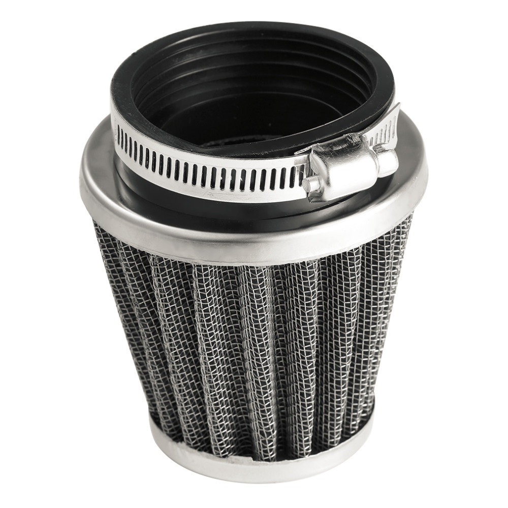 2019 Universal 35/39/42/44/48/50/52/54/60mm Motorcycle Mushroom Head Air Filter Clamp On Air Filter Cleaner Hot Selling Pakistan