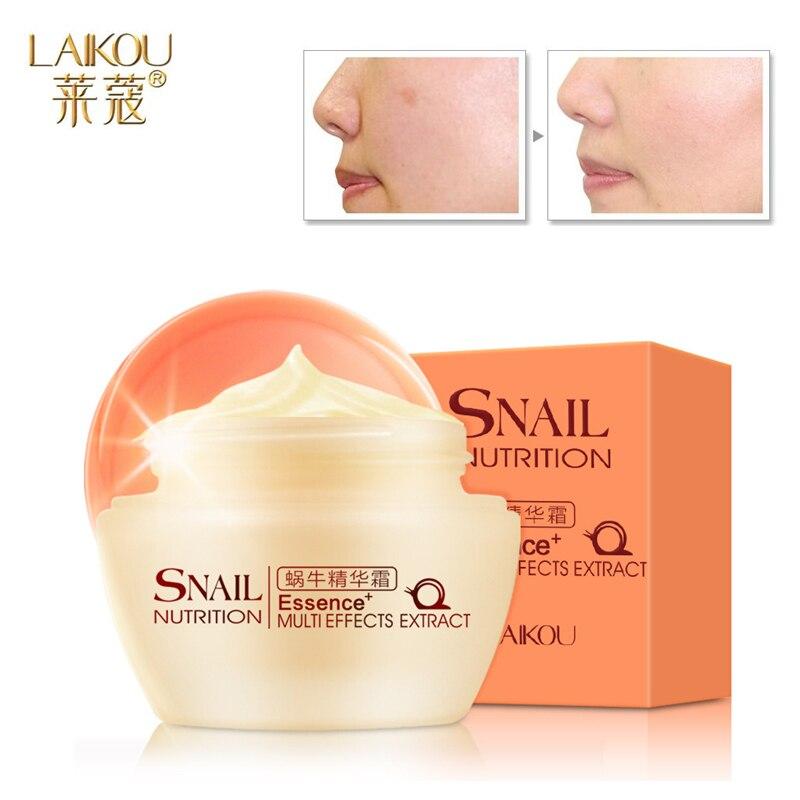 Essence Snail Cream Face Care Skin Treatment Reduce Scars Acne Pimples Moisturizing Whitening Cream Anti Winkles Aging все цены