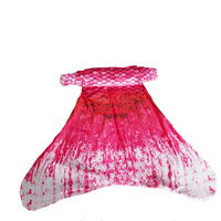 Adult Children Mermaid Tail Cosplay Costume Dress For Girls Kids Tails Without Monofin