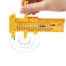 DIY резак с компасом круглый нож для рисования круглый режущий нож Лоскутные инструменты швейные принадлежности фото бумажный резак инструмент