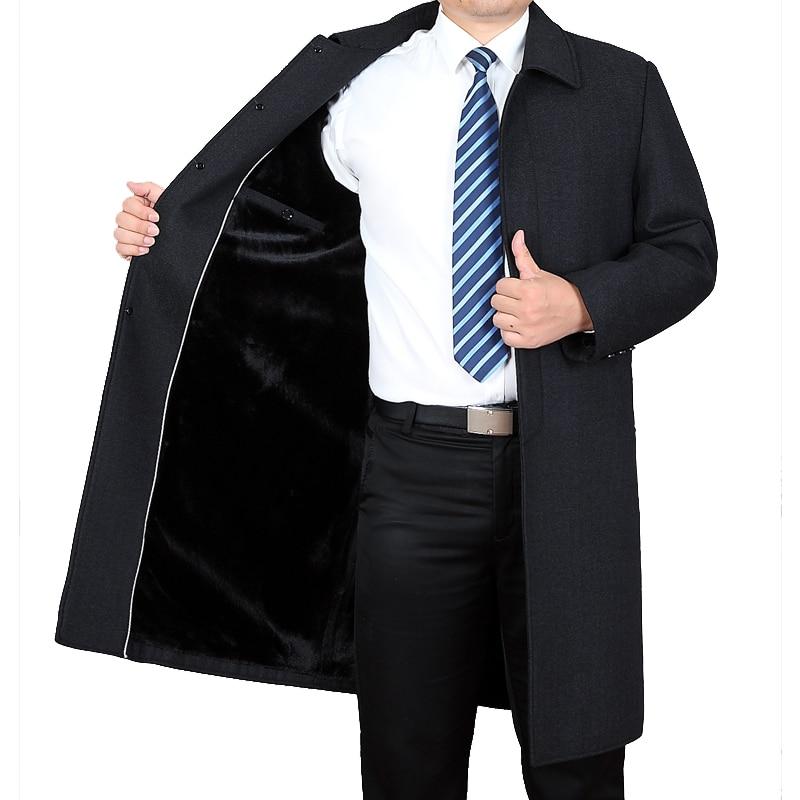 Mu Yuan Yang Business décontracté hommes vestes en laine 3XL 4XL épaissir hommes x long laine manteau hiver mâle laine & mélanges pardessus-in Laine et mélanges from Vêtements homme on AliExpress - 11.11_Double 11_Singles' Day 2