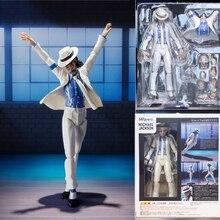 Mike Jason pürüzsüz ceza Moonwalk Action Figure koleksiyon Model oyuncaklar 15cm