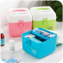 Multi-layer Small Medicine Box Household Medicine Storage Box Baby Medicine Box Family First-aid Medicine Cabinet katherine polak field manual for small animal medicine