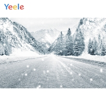 Yeele Winter Fallen Snow Forest Room Decor Painting Photography Backdrops Personalized Photographic Backgrounds For Photo Studio