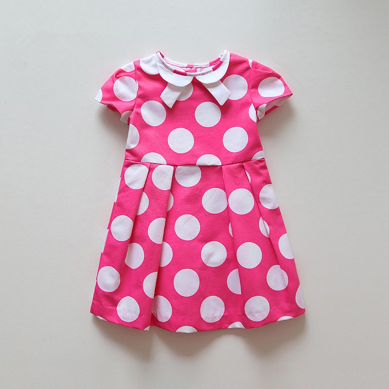 J Brand girls pink  Dot dress 100% cotton J Brand girls pink  Dot dress 100% cotton