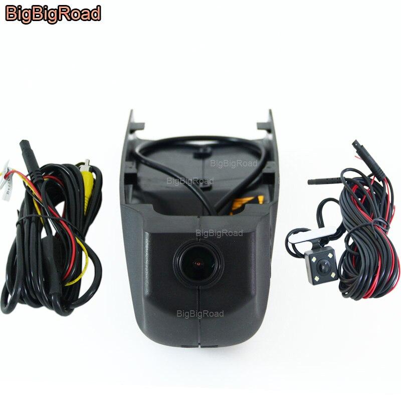 BigBigRoad Pour BMW X1 X4 X6 X7 X3 e83 f25 X4 f26 GT f34 f07 X5 F15 2018 Voiture wifi DVR Enregistreur Vidéo black box Dash Cam Caméra