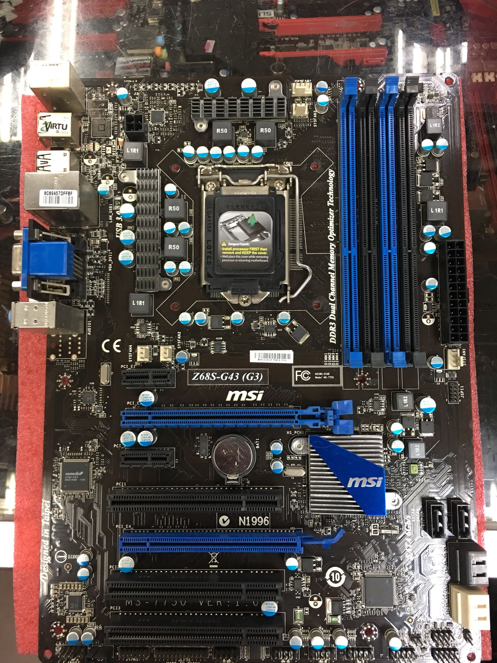 MSI Z68S-G43 (G3) 1155CPU Z68 series  80%-90%new