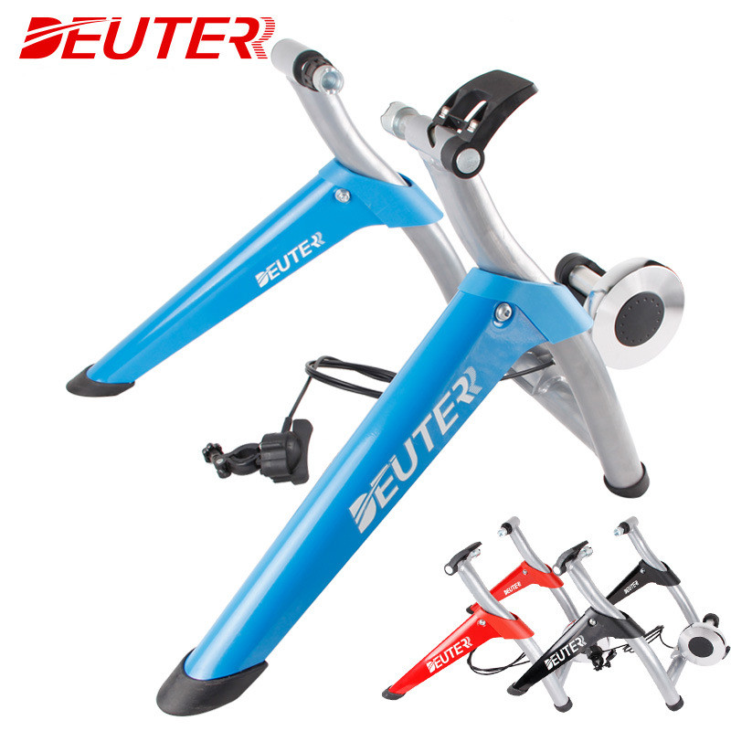 все цены на 6 Speed Magnetic Resistances MT06 MTB BicycleTrainer Cycling Trainer Home Training Indoor Exercise Blue Red Black 26-28 Inch
