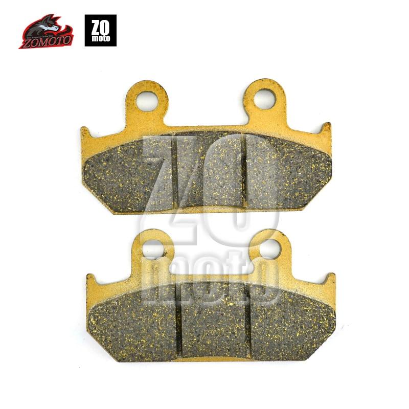 ZOMOTO 2016  Motorcycle  Disc Brake Pads FA412 fit for SUZUKI STREET BIKE AN400  K7/K8/K9/AK9 AL4/AL5 AN 650 K3 motorcycle disc brake pads fa473 fit for can am spyder rs ses 990cc 08 09 phantom black