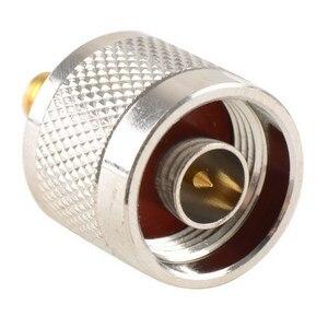 Image 3 - Adapter N Stecker Männlichen Nickel Plating Zu SMA Weibliche Vergoldung Jack RF Stecker Gerade VC720re P15 0,3
