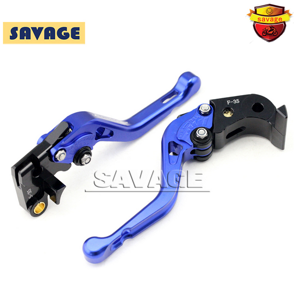 For SUZUKI GSX-S1000 GSX-S 1000 1000F 2015-2016 Blue Motorcycle CNC Billet Aluminum Short Brake Clutch Levers Logo GSX-S1000 for suzuki gsx s1000f gsx s1000 2015 2016 motorcycle accessories short brake clutch levers logo gsx s1000 blue