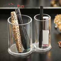 Acrylic Makeup Organizer Rangement Maquillage Storage Box Organizer For Cosmetics Desk Organizer Organizador Maquiagem SF 298