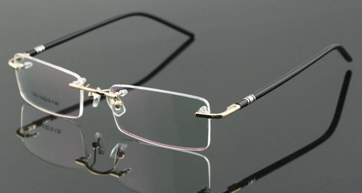 e4eb2d251 10 قطعة/الوحدة الجملة الذهب نظارات بدون إطار رجل نظارات نسائية نظارات نظارات  RX 1290