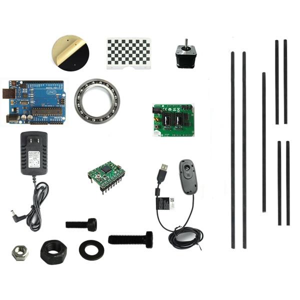 US $99 99 |Desktop DIY Ciclop laser 3D scanner, Logitech C270 camera, BQ 3D  scanner-in Power Tool Accessories from Tools on Aliexpress com | Alibaba