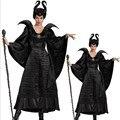 Косплей роль фильм maleficent черная ведьма черный летучая мышь вампир coaplay платья унисекс костюмы экспорт игра равномерное горячая продажа